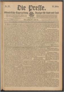 Die Presse 1911, Jg. 29, Nr. 133 Zweites Blatt, Drittes Blatt