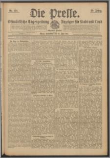 Die Presse 1911, Jg. 29, Nr. 134 Zweites Blatt, Drittes Blatt