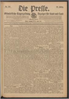 Die Presse 1911, Jg. 29, Nr. 135 Zweites Blatt, Drittes Blatt, Viertes Blatt