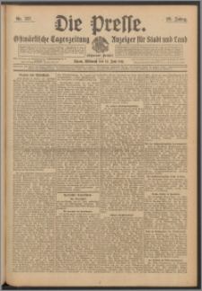 Die Presse 1911, Jg. 29, Nr. 137 Zweites Blatt, Drittes Blatt