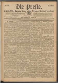 Die Presse 1911, Jg. 29, Nr. 138 Zweites Blatt, Drittes Blatt