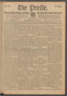 Die Presse 1911, Jg. 29, Nr. 142 Zweites Blatt, Drittes Blatt