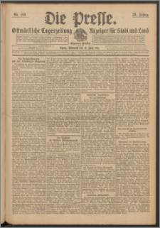 Die Presse 1911, Jg. 29, Nr. 143 Zweites Blatt, Drittes Blatt
