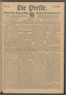 Die Presse 1911, Jg. 29, Nr. 144 Zweites Blatt, Drittes Blatt