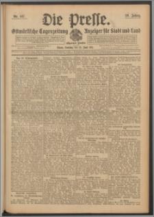 Die Presse 1911, Jg. 29, Nr. 147 Zweites Blatt, Drittes Blatt, Viertes Blatt