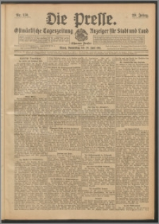 Die Presse 1911, Jg. 29, Nr. 150 Zweites Blatt, Drittes Blatt