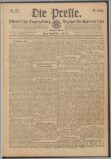 Die Presse 1911, Jg. 29, Nr. 153 Zweites Blatt, Drittes Blatt, Viertes Blatt