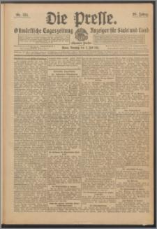 Die Presse 1911, Jg. 29, Nr. 154 Zweites Blatt, Drittes Blatt