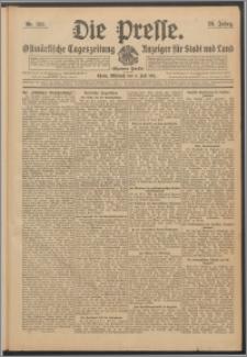 Die Presse 1911, Jg. 29, Nr. 155 Zweites Blatt, Drittes Blatt