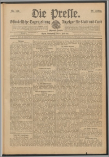 Die Presse 1911, Jg. 29, Nr. 156 Zweites Blatt, Drittes Blatt