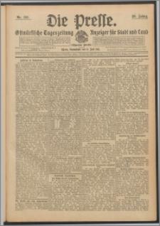 Die Presse 1911, Jg. 29, Nr. 158 Zweites Blatt, Drittes Blatt