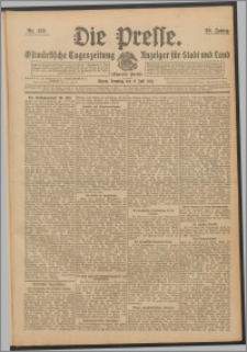 Die Presse 1911, Jg. 29, Nr. 159 Zweites Blatt, Drittes Blatt, Viertes Blatt