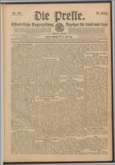 Die Presse 1911, Jg. 29, Nr. 160 Zweites Blatt, Drittes Blatt