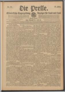 Die Presse 1911, Jg. 29, Nr. 161 Zweites Blatt, Drittes Blatt