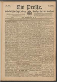 Die Presse 1911, Jg. 29, Nr. 162 Zweites Blatt, Drittes Blatt