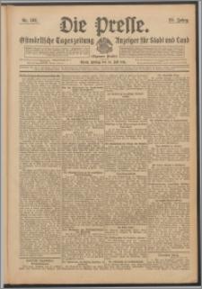 Die Presse 1911, Jg. 29, Nr. 163 Zweites Blatt, Drittes Blatt