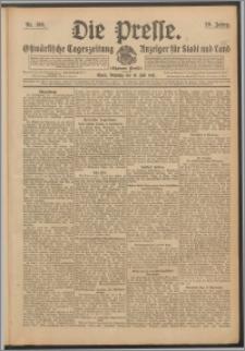 Die Presse 1911, Jg. 29, Nr. 166 Zweites Blatt, Drittes Blatt