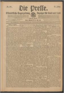 Die Presse 1911, Jg. 29, Nr. 167 Zweites Blatt, Drittes Blatt