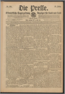 Die Presse 1911, Jg. 29, Nr. 169 Zweites Blatt, Drittes Blatt