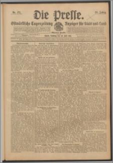 Die Presse 1911, Jg. 29, Nr. 171 Zweites Blatt, Drittes Blatt, Viertes Blatt