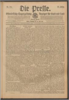 Die Presse 1911, Jg. 29, Nr. 172 Zweites Blatt, Drittes Blatt