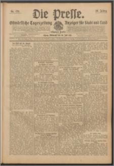 Die Presse 1911, Jg. 29, Nr. 173 Zweites Blatt, Drittes Blatt