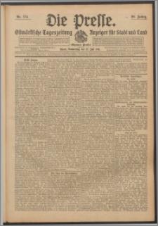 Die Presse 1911, Jg. 29, Nr. 174 Zweites Blatt, Drittes Blatt