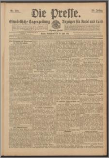 Die Presse 1911, Jg. 29, Nr. 176 Zweites Blatt, Drittes Blatt