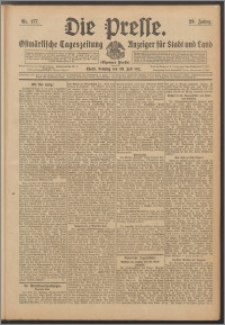 Die Presse 1911, Jg. 29, Nr. 177 Zweites Blatt, Drittes Blatt, Viertes Blatt