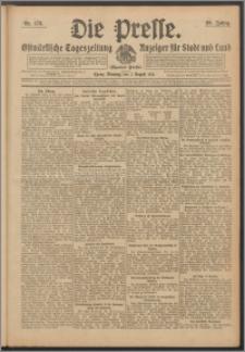 Die Presse 1911, Jg. 29, Nr. 178 Zweites Blatt, Drittes Blatt