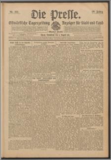 Die Presse 1911, Jg. 29, Nr. 182 Zweites Blatt, Drittes Blatt