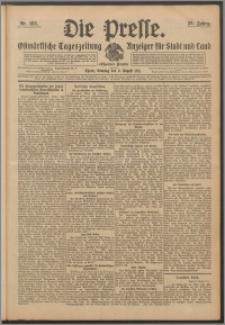Die Presse 1911, Jg. 29, Nr. 183 Zweites Blatt, Drittes Blatt, Viertes Blatt