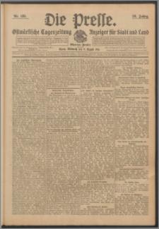 Die Presse 1911, Jg. 29, Nr. 185 Zweites Blatt, Drittes Blatt
