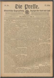 Die Presse 1911, Jg. 29, Nr. 186 Zweites Blatt, Drittes Blatt