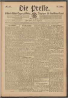 Die Presse 1911, Jg. 29, Nr. 187 Zweites Blatt, Drittes Blatt