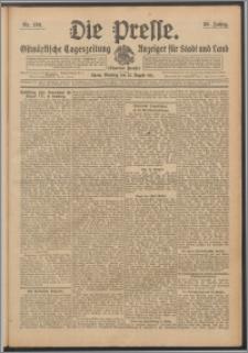 Die Presse 1911, Jg. 29, Nr. 190 Zweites Blatt, Drittes Blatt