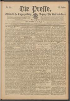 Die Presse 1911, Jg. 29, Nr. 194 Zweites Blatt, Drittes Blatt