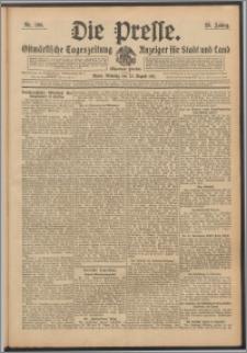 Die Presse 1911, Jg. 29, Nr. 196 Zweites Blatt, Drittes Blatt