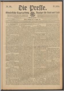 Die Presse 1911, Jg. 29, Nr. 202 Zweites Blatt, Drittes Blatt