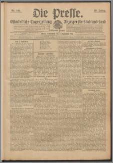 Die Presse 1911, Jg. 29, Nr. 206 Zweites Blatt, Drittes Blatt