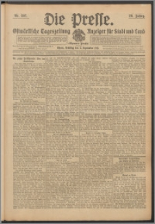 Die Presse 1911, Jg. 29, Nr. 207 Zweites Blatt, Drittes Blatt, Viertes Blatt, Fünftes Blatt