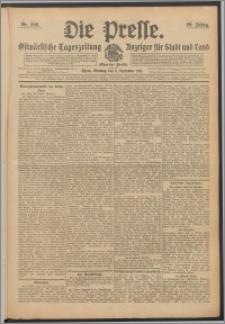 Die Presse 1911, Jg. 29, Nr. 208 Zweites Blatt, Drittes Blatt