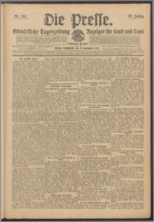 Die Presse 1911, Jg. 29, Nr. 212 Zweites Blatt, Drittes Blatt