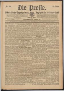 Die Presse 1911, Jg. 29, Nr. 213 Zweites Blatt, Drittes Blatt, Viertes Blatt, Fünftes Blatt