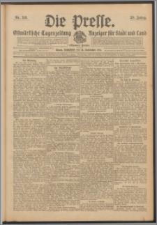 Die Presse 1911, Jg. 29, Nr. 218 Zweites Blatt, Drittes Blatt