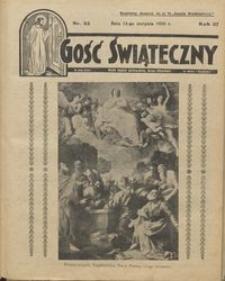 Gość Świąteczny 1933.08.13 R. XXXVII nr 32
