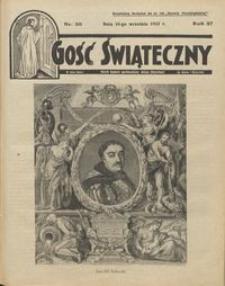 Gość Świąteczny 1933.09.10 R. XXXVII nr 36