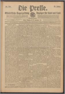 Die Presse 1911, Jg. 29, Nr. 220 Zweites Blatt, Drittes Blatt