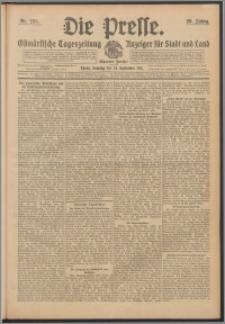 Die Presse 1911, Jg. 29, Nr. 225 Zweites Blatt, Drittes Blatt, Viertes Blatt, Fünftes Blatt