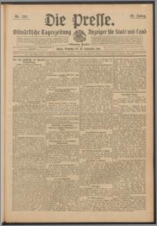 Die Presse 1911, Jg. 29, Nr. 226 Zweites Blatt, Drittes Blatt